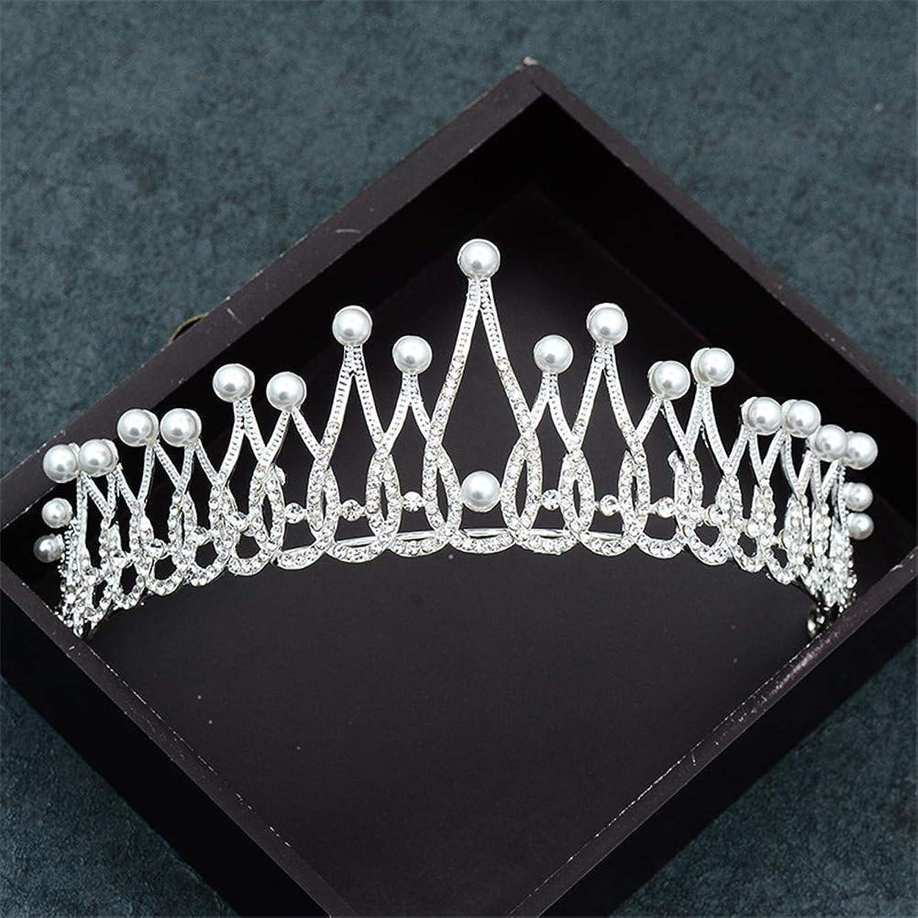 金属発明する鬼ごっこ女性プリンセスクラウンヘッドバンドクリスタルラインストーンティアラクラウンヘアバンドジュエリーシルバーブライダルヘアアクセサリー結婚式の装飾