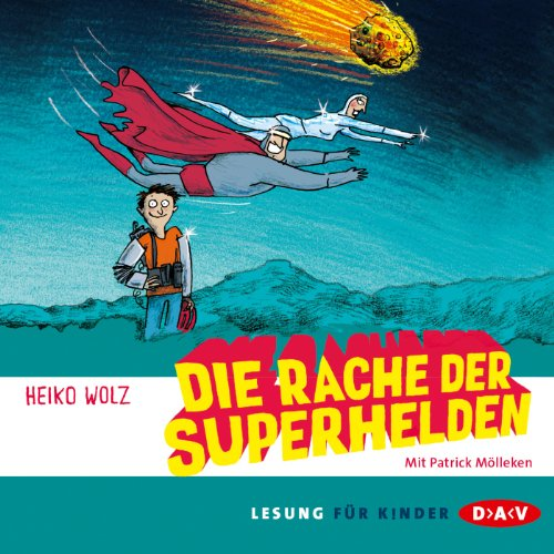 Die Rache der Superhelden cover art