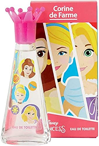 Corine De Farme | Princesses | Parfum Enfant | Eau De Toilette Disney | Notes Fruitées | Made in France