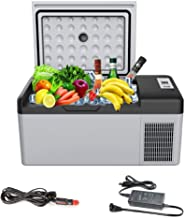 Fishing Camping Outdoor and Home use 12//24V DC and 110-240 AC 30 Liter Picnic Outdoor Travel Ansten Mini Fridge Electric Cooler for Driving Portable Refrigerator//Freezer 32 Quart