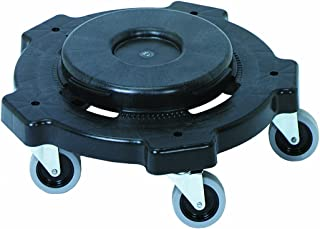 CMC 3255 Black Round Dolly with 4 3