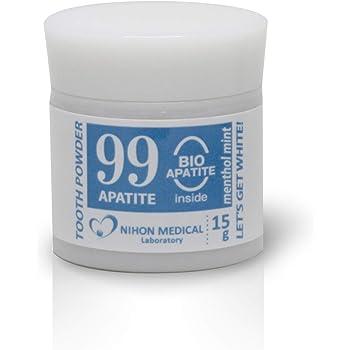 [NML] ホワイトニング 天然アパタイト 99%配合 はみがき粉 歯磨き粉 パウダー メディカルホワイト99 30-60日分