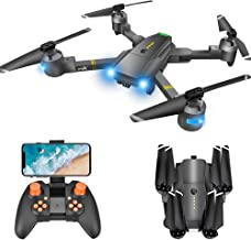 Drone with Camera for Adults - 120° Wide Angle RC Quadcopter for Beginner, WiFi FPV Live Video, Altitude Hold, Headless Mo...
