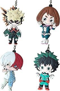 Llavero de metal con dise/ño de personajes de anime RedCherry color Arte Espada Online