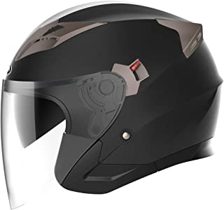 Best leather open face motorcycle helmet Reviews