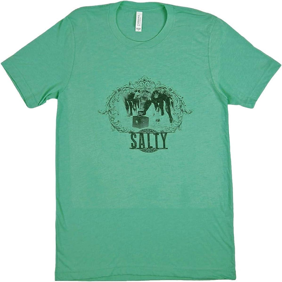 STS Ranchwear Youth Tahiti Blue Salty Tee, Large