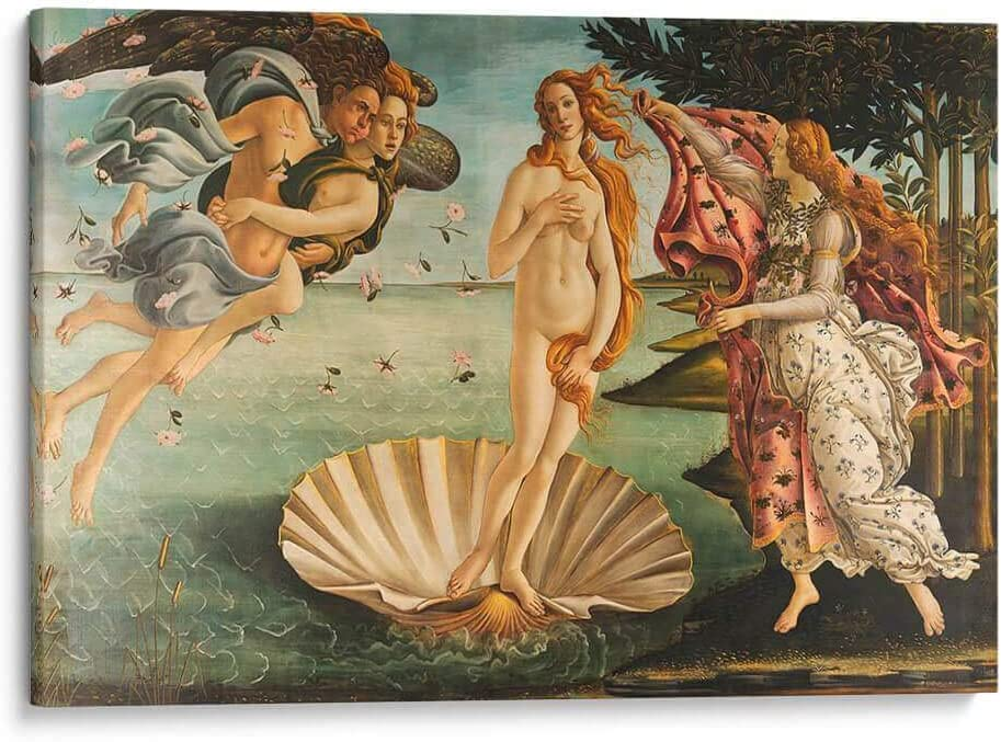 Canvas Lab Wall NEW before selling Art by Sandro Fixed price for sale The of V Birth Botticelli -