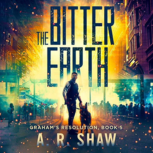 The Bitter Earth audiobook cover art