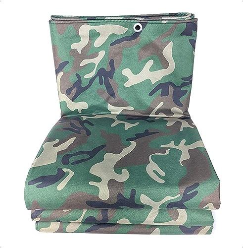 QXJPZ Toile Anti-Froid pour baches de Camouflage résistantes et imperméables dans la Jungle (Couvre-Sol imperméable) (Disponible en différentes Tailles)