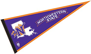 College Flags and Banners Co. Northwestern State University Pennant Full Size Felt
