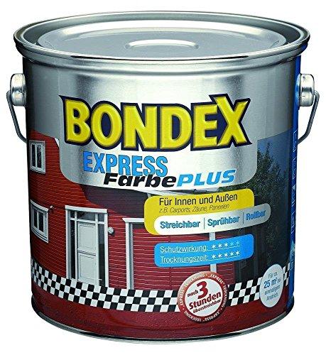 Bondex Express Farbe Plus in 758 Schokoladenbraun 750 ml