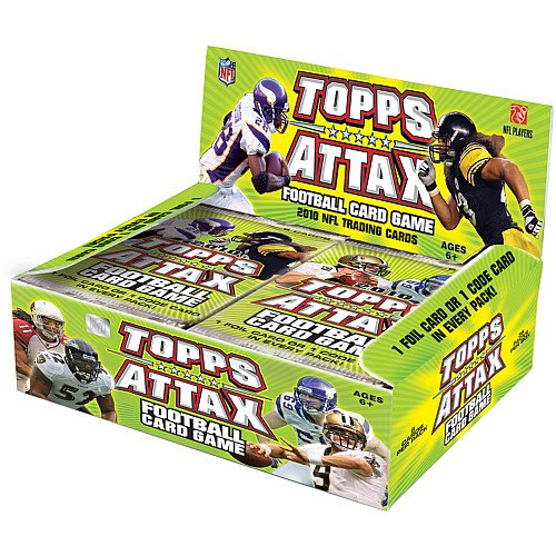 Big Sale Best Cheap Deals 2010 Topps Attax Football booster pack box (36 ct)