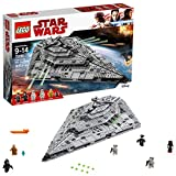 LEGO Star Wars Episode VIII First Order Star Destroyer 75190 Building Kit (1416 Piece)