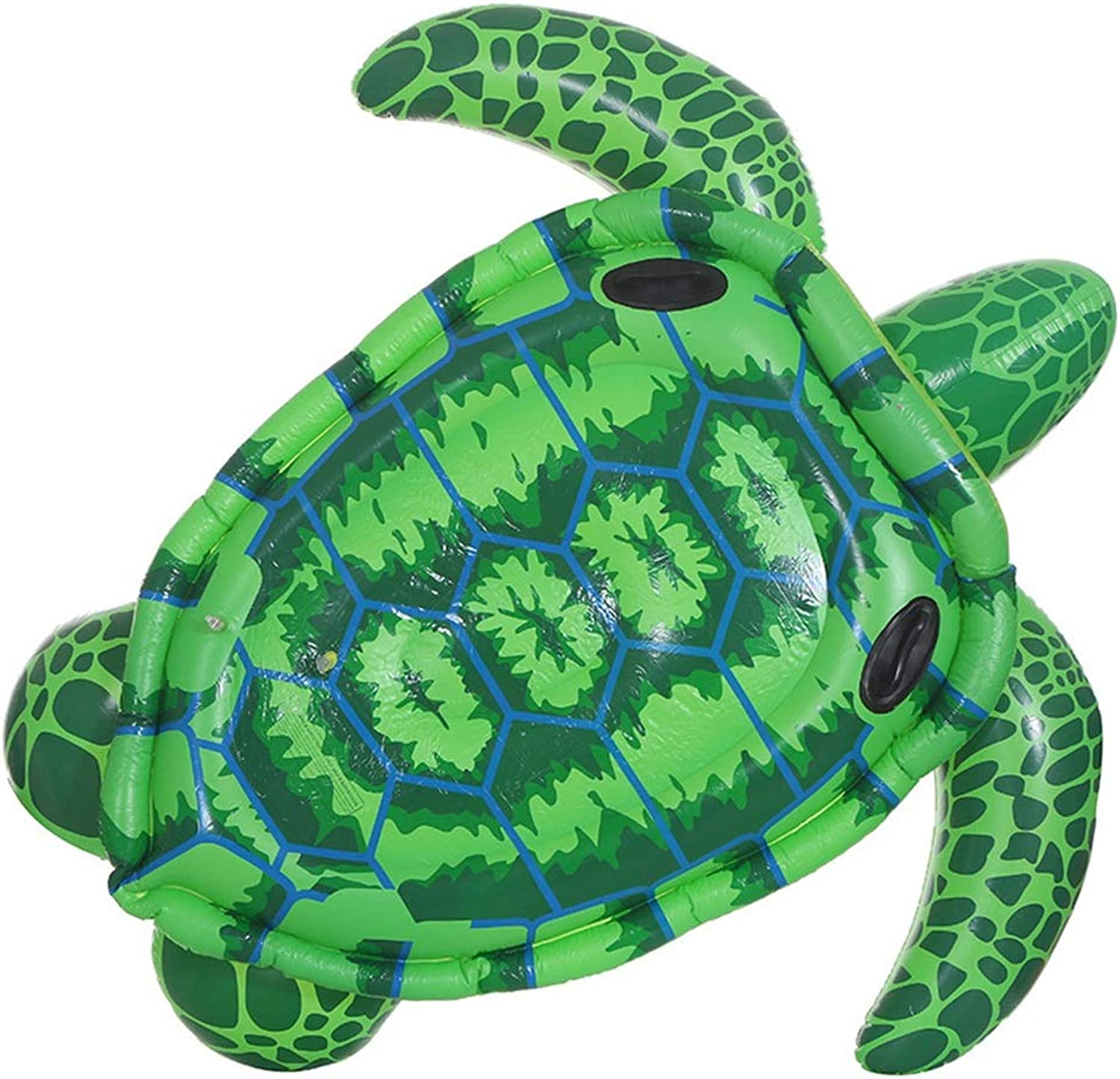 de moda MISHUAI Fila Flotante Inflable Tortuga Tortuga Tortuga Marina Inflable Ride-On Fun Pool Swim Party Juguete for Niños Adultos Fila Flotante Inflable Piscina de Aire y inflables (Color   verde, tamaño   Free Talla)  conveniente