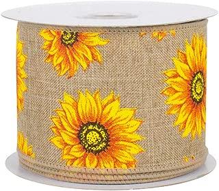 Best sunflower ribbon wreath Reviews