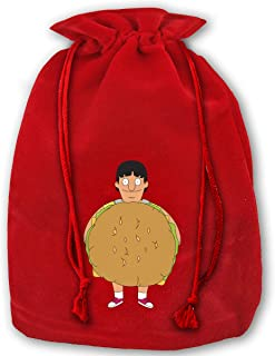 Cheny Bobs Burgers Gene Stand Up American Sitcom Christmas Gift Bags With Drawstring Large Size 17.7