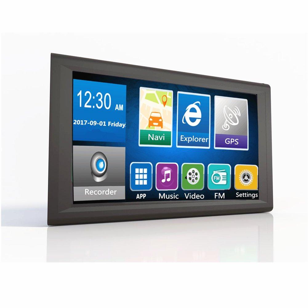 ETbotu Navegador GPS para coche, 8 GB, Android 4.2.2, 1080p, GPS y Tacógrafo, grabador de datos: Amazon.es: Coche y moto