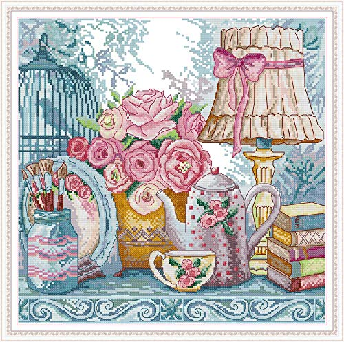 Cross Stitch Kits Pre-Printed Cross Stiching Stamped Cross Stitch Kit 14CT DIY Art Crafts for Beginners Wedding Suppliers(1)