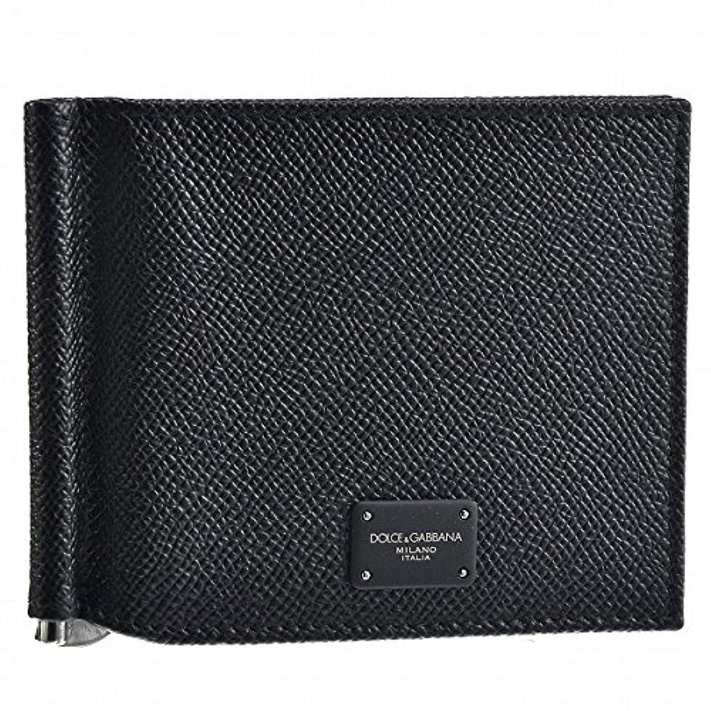 もしキャロライン重力Dolce&Gabbana(ドルチェ&ガッバーナ) 財布 メンズ ST.DAUPHINE+TARG 2つ折り財布 ブラック BP1920-AI359-80999 [並行輸入品]