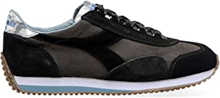 Diadora heritage, uomo, trident s sw marrone verde, suede, sneakers, marrone, 40.5 eu amazon shoes marroni pelle