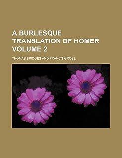 A Burlesque Translation of Homer Volume 2