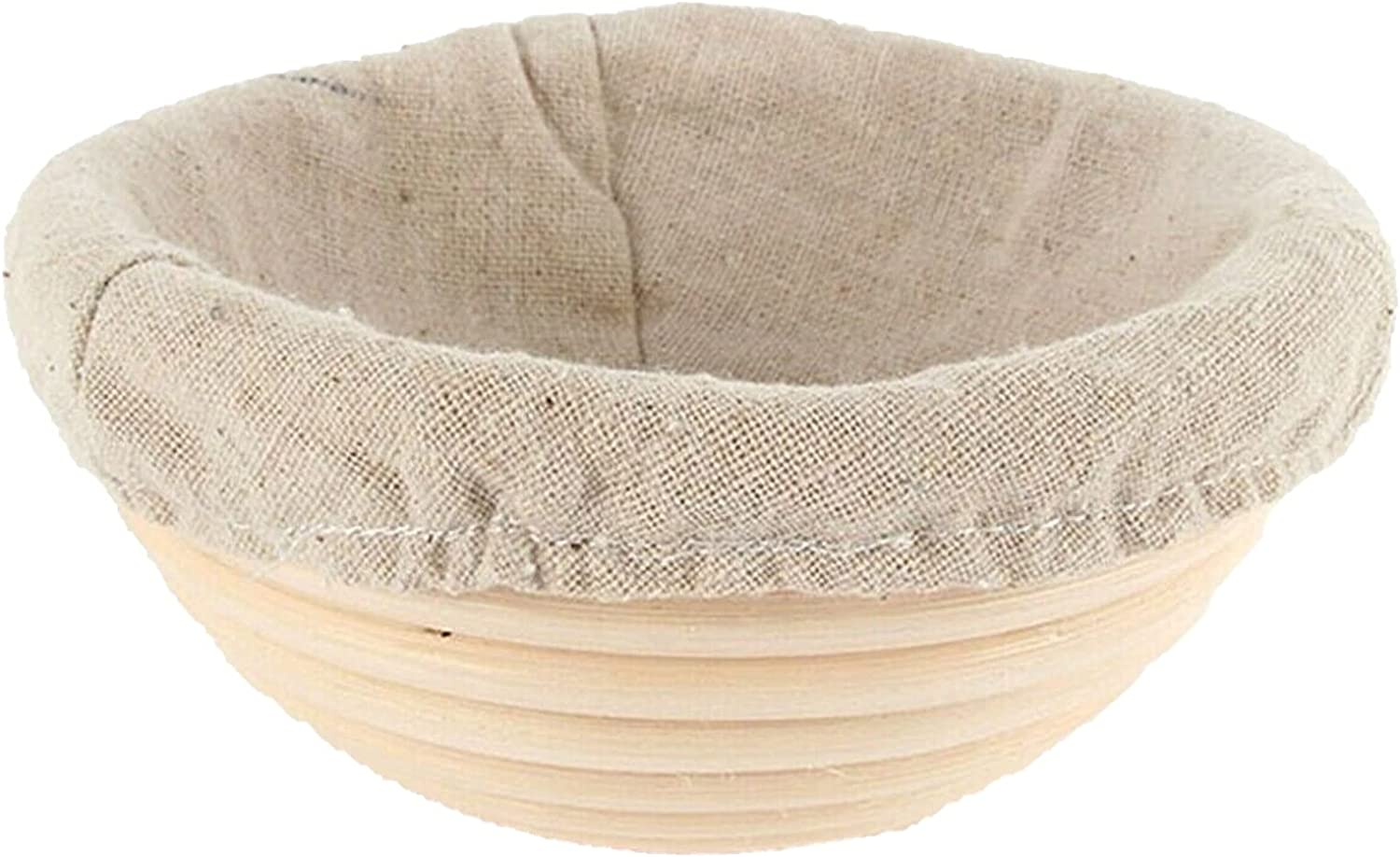 HXiaoF Bread Basket Outlet ☆ Free Shipping Round Banneton Dough H Rattan for Rose Challenge the lowest price Used