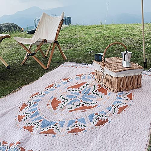 OUMIFA Ins Beach Outdoor Oakland Mall Portable Sofa Cover Boh Blanket Japan's largest assortment Camping