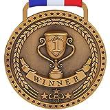 Prestige Palace Awards 1st Place Winner Gold Award Medal, Antique Gold