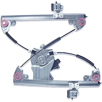 FFFauto 748-974 Front Driver Left Side Power Window Regulator with Motor compatible with 2011-2015 Chevy Cruze