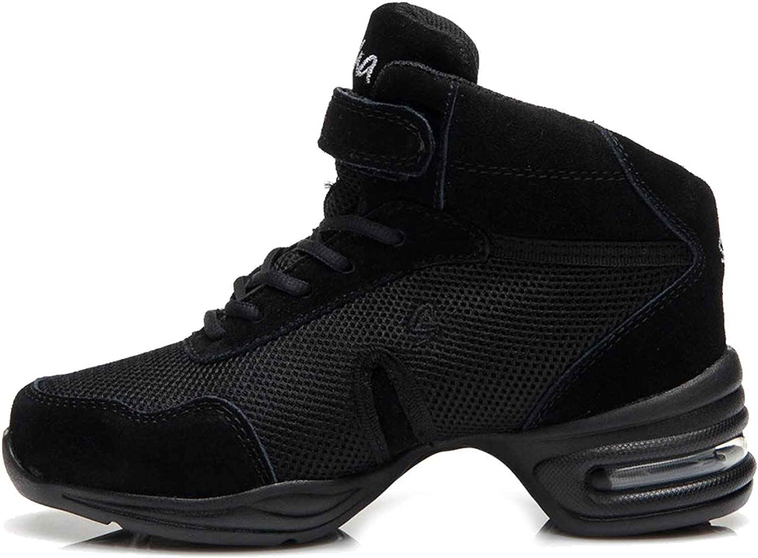 Roymall Men and Women's Modern Jazz Soft Leather Dance Sneaker shoes, Dance-sneakers Model CAB57 58 59