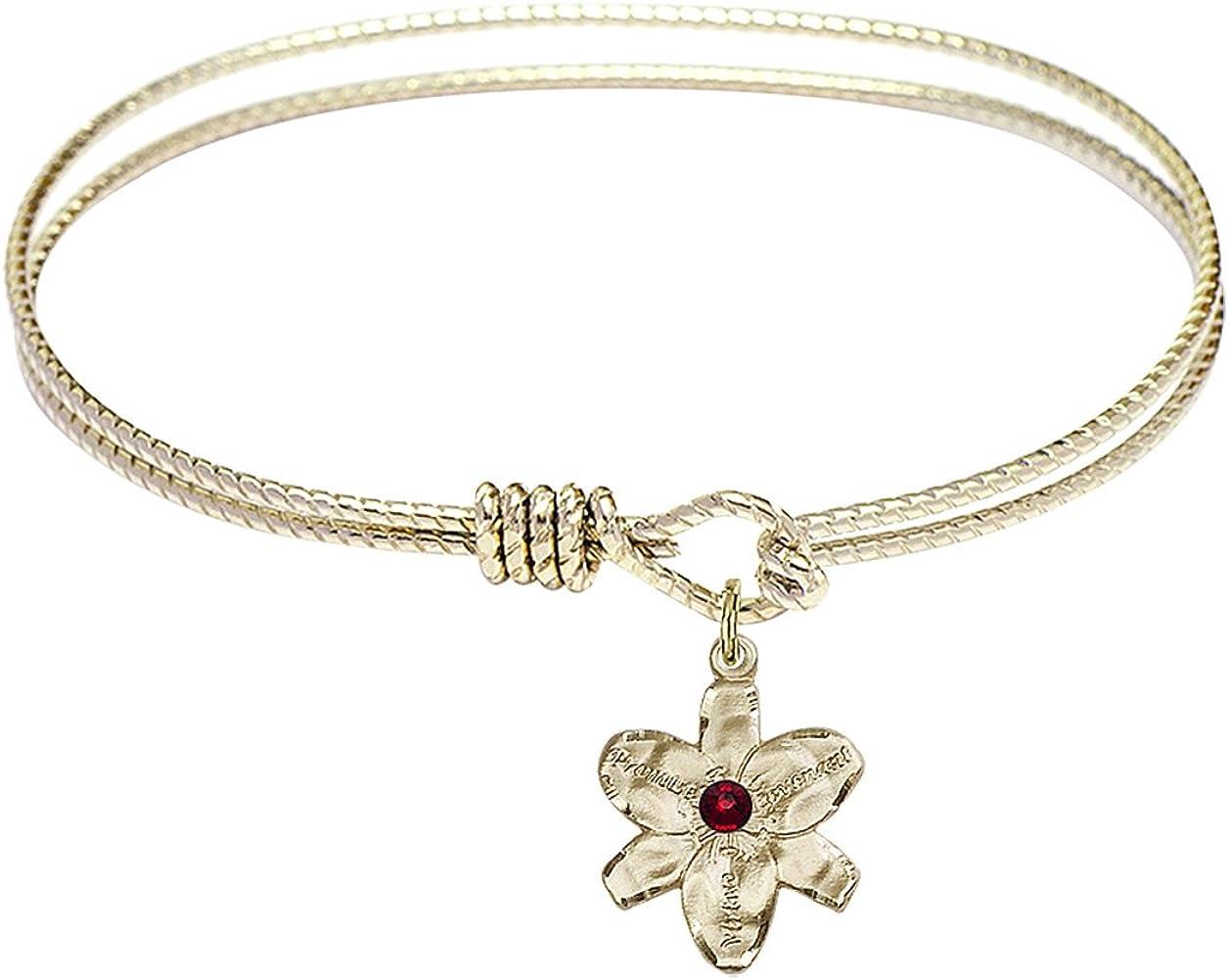 DiamondJewelryNY Eye Hook Bangle Bracelet Soldering Charm. a with Chastity Finally popular brand