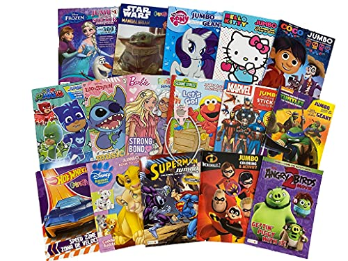 Bundle of 16 Coloring Books Kids Ag…