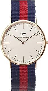 Daniel Wellington 丹尼尔?惠灵顿 瑞典品牌 Classic系列 玫瑰金表圈表扣 石英手表 男士腕表