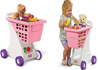 Little Tikes Trolley Toy Shopping Cart Grocery Store Basket Pretend Play Toddler Kids Gift