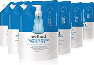 method pink grapefruit foaming hand soap refill
