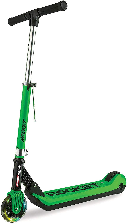 Ninco elektrischen Tretroller Zusammenklappbar Junior E Scooter Rocket, Mehrfarbig (33006)