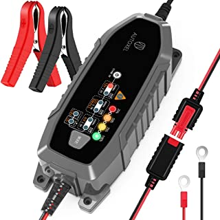 AUTOXEL Car Battery Charger 6V/12V 3.8Amp Automotive Trickle Battery Charger Maintainer 110V Battery Repair Charger with 8...