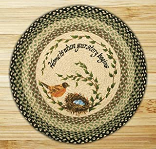 Earth Rugs 66-121RN Round Rug, 27