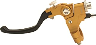 LLMXFC 4 Kleur Kwaliteit 22mm Universele Motorfiets Linkerktouw Treklijn Kabel Clutch-hendels (Color : Gold)