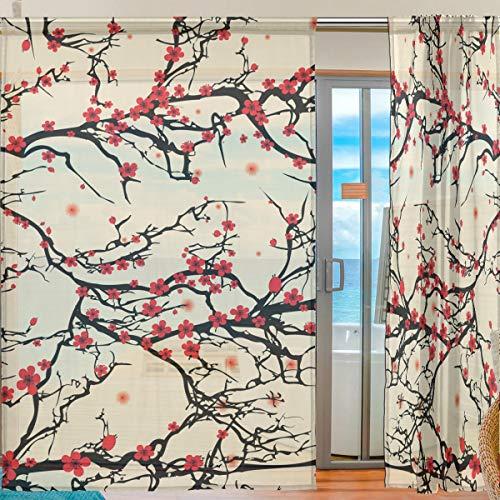 cortinas dormitorio panel japones