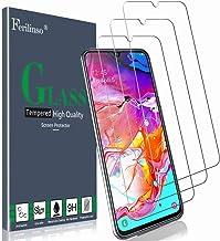 Ferilinso Cristal Templado para Samsung Galaxy A70, [3 Pack] Protector de Pantalla Screen Protector con garantía de reemplazo de por Vida para Samsung Galaxy A70