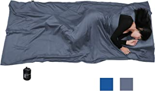 Browint Silk/Cotton Travel Sheet with Double Zippers, 87