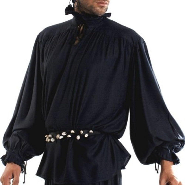 David Herriot Pirate Shirt  Black