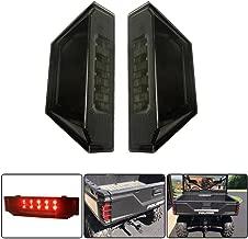KEMIMOTO, A Pair Rear Tail Light Replacement for Polaris Ranger 570 XP 900 1000 Brake Stop Lamp for RGR Taillight Black