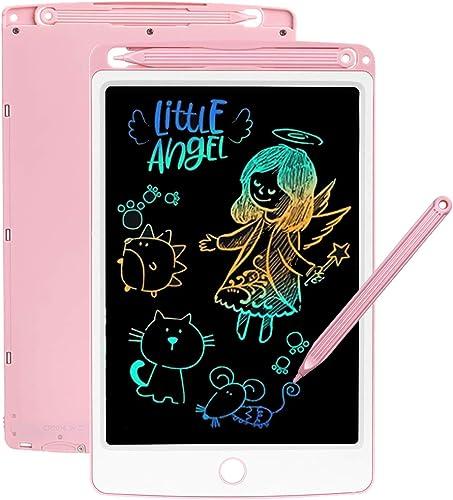 SCRIMEMO LCD Tablette D'écriture 8.5 Pouces Coloré, Ardoise Magique, Jouets pour Enfants, Filles De 3-12 Ans, l'écrit...