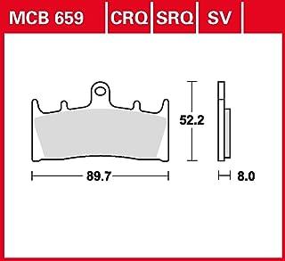 Bremsbelag Lucas MCB659CRQ Hyper Carbon Rennsportbelag NSR Tech
