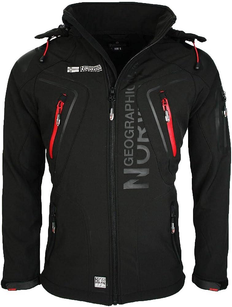Geographical norway  softshell funzionale, giacca per esterno idrorepellente per uomo 58847456
