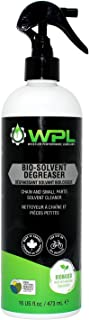 WPL Bio-Solvent Degreaser, Bicycle Chain and Small Parts Cleaner, Biodegradable Bio-Based and Non-Toxic Formula For Road and Mountain Bikes