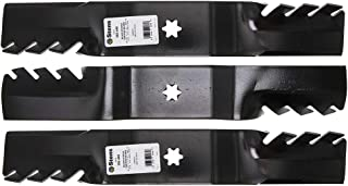 Stens Pack of Three 302-448 Silver Streak Toothed Blade