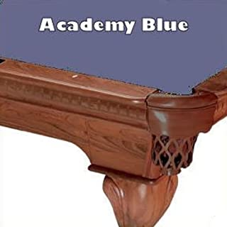 8' Academy Blue ProLine Classic 303 Teflon Billiard Pool Table Cloth Felt
